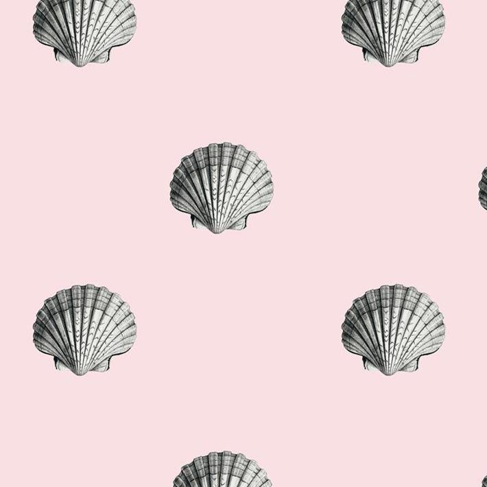 Seashells Removable Wallpaper - Pink