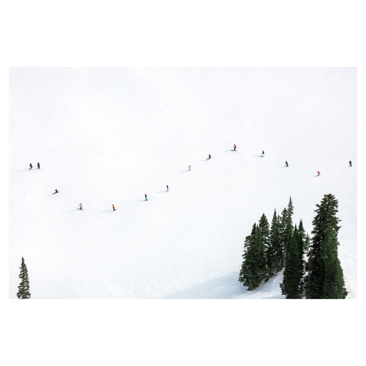 Ski School, Aspen by Gray Malin