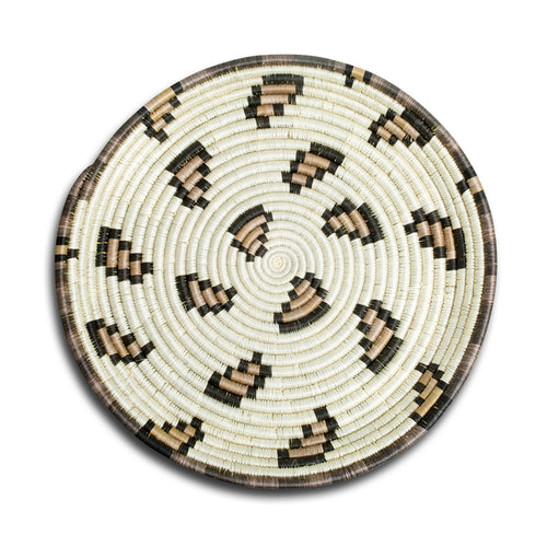 Leopard Print Woven Tray