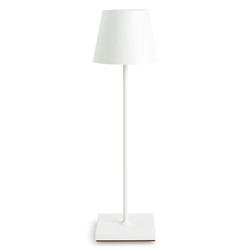 Furbish Studio - Rechargeable Annabelle Table Lamp in White