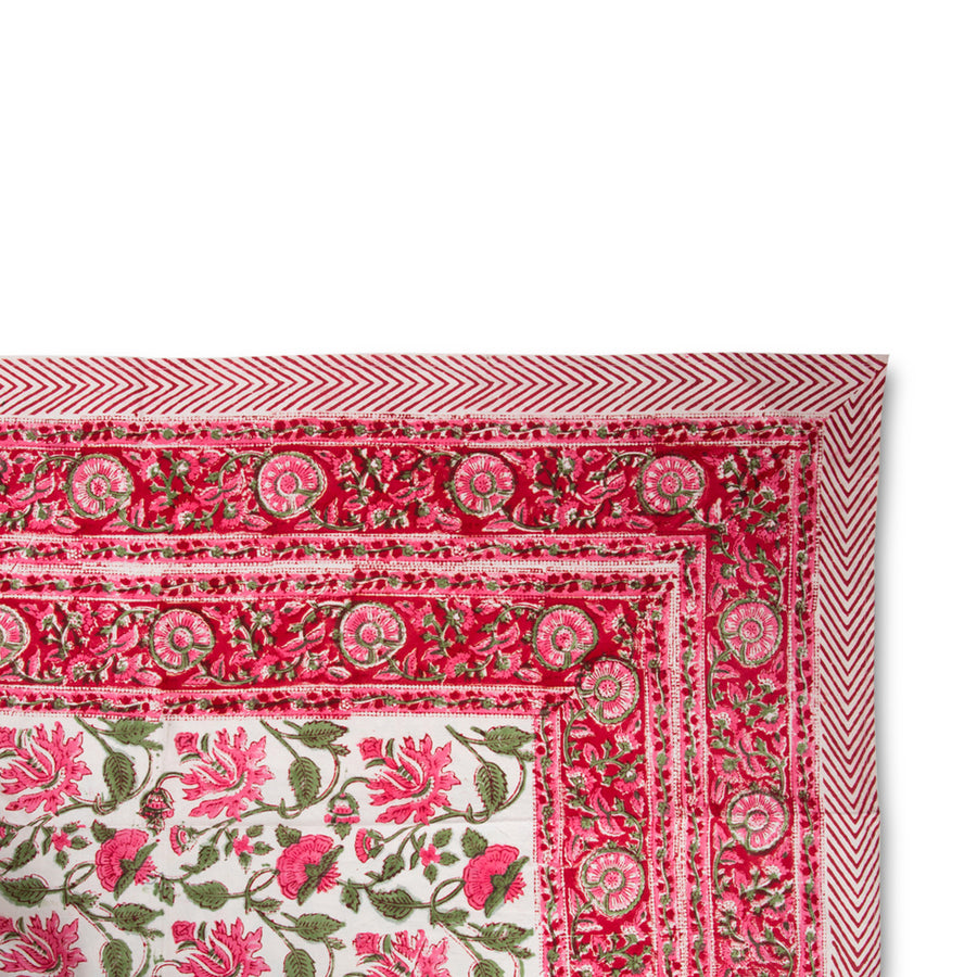 Pretty in Pink Tablecloth