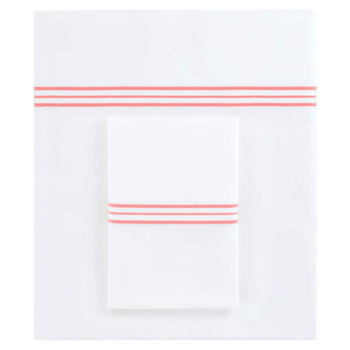 Gramercy Sheet Set - Coral