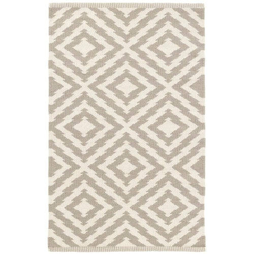 Sherman Dhurrie Rug - Taupe