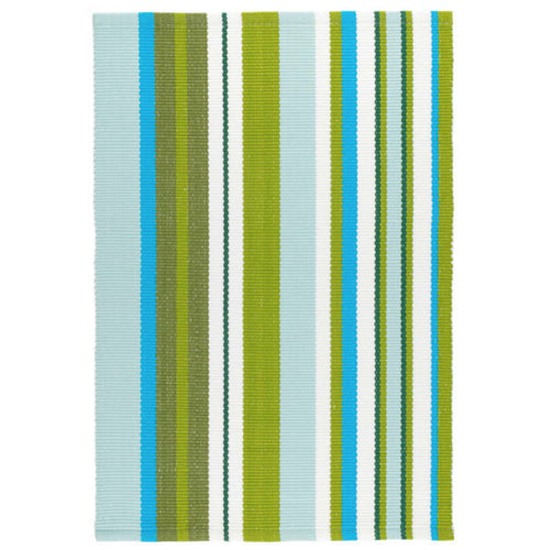 Furbish - Capri Blues, Greens and White Indoor/Outdoor Rug