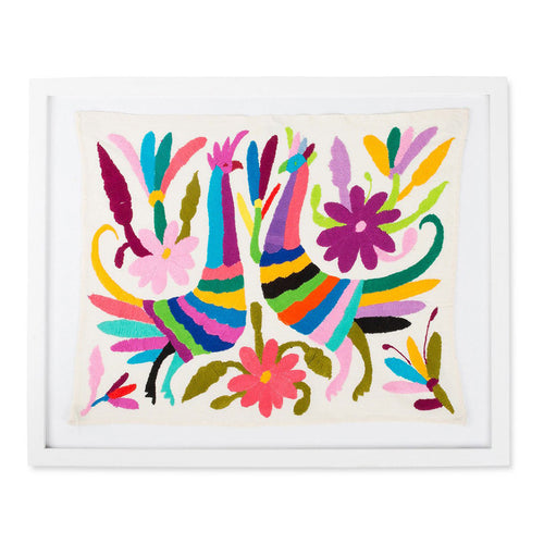 Framed Otomi Art - Large