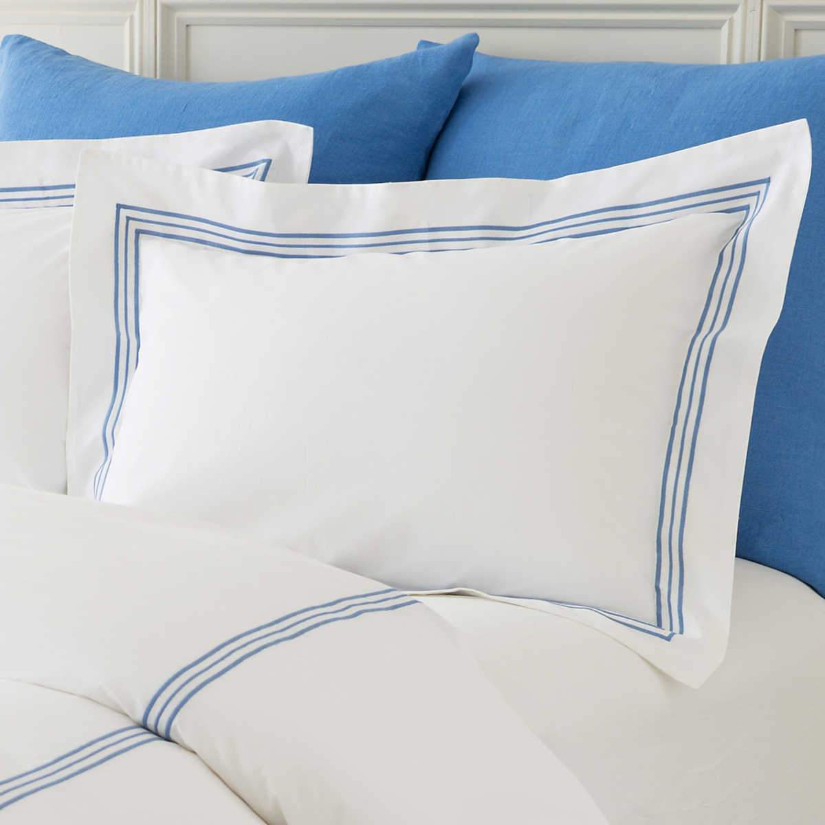 Gramercy Sham - China Blue