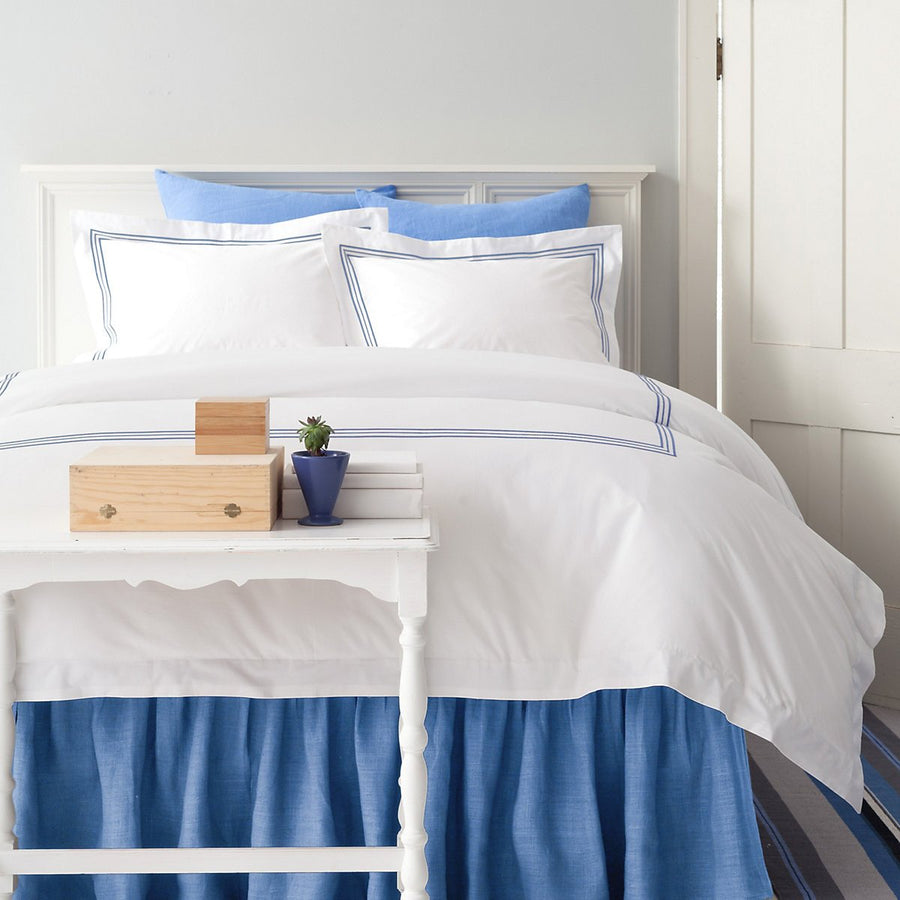 Gramercy Duvet Cover - China Blue