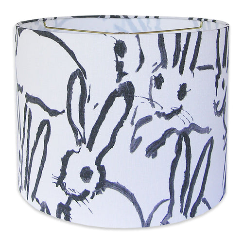 Groundworks Rabbit Lampshade - Black