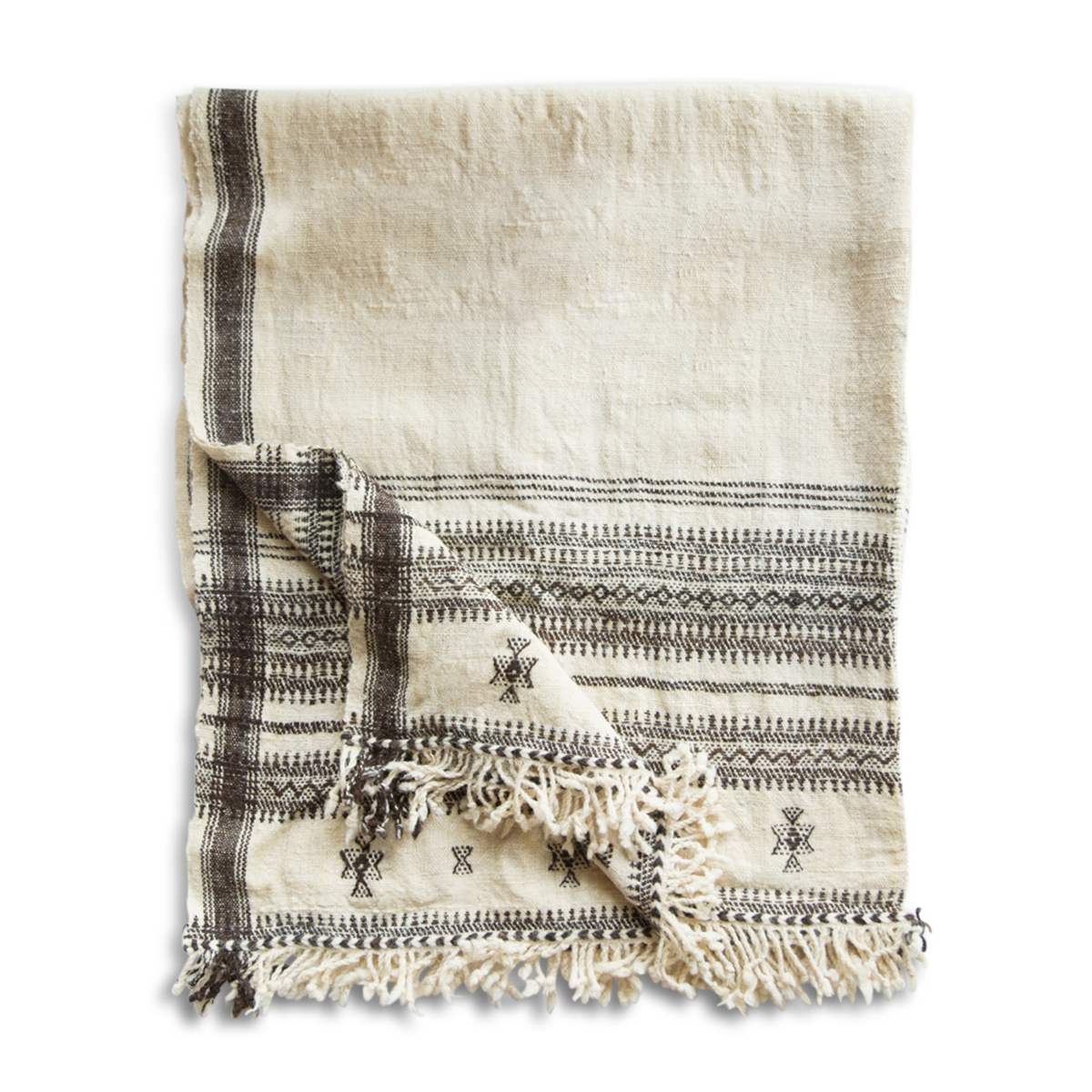 Vankar Indian Wool Blanket