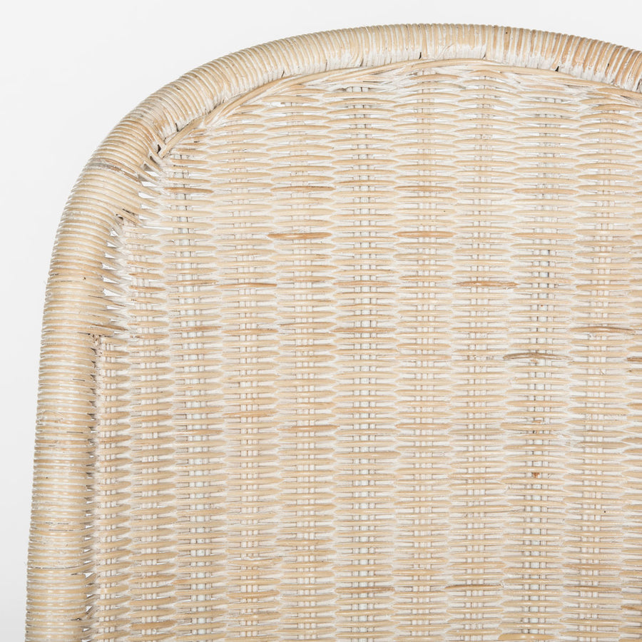 Madeline Wicker Chair Pair - Natural