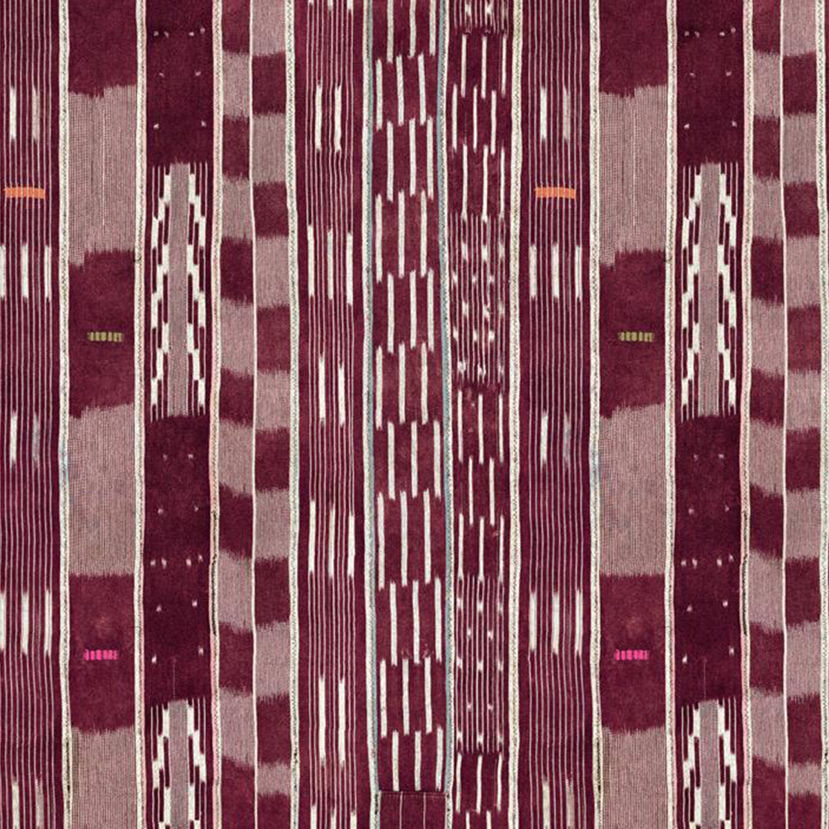 Madison Stripe Wallpaper - Aubergine