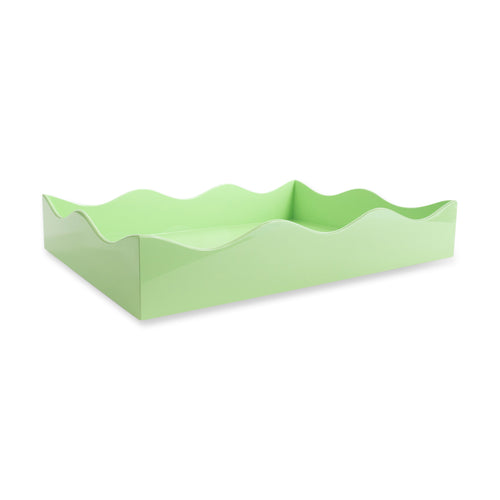 Large Belles Rives Tray - Mint