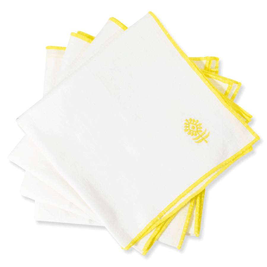 Icon Linen Napkin - White