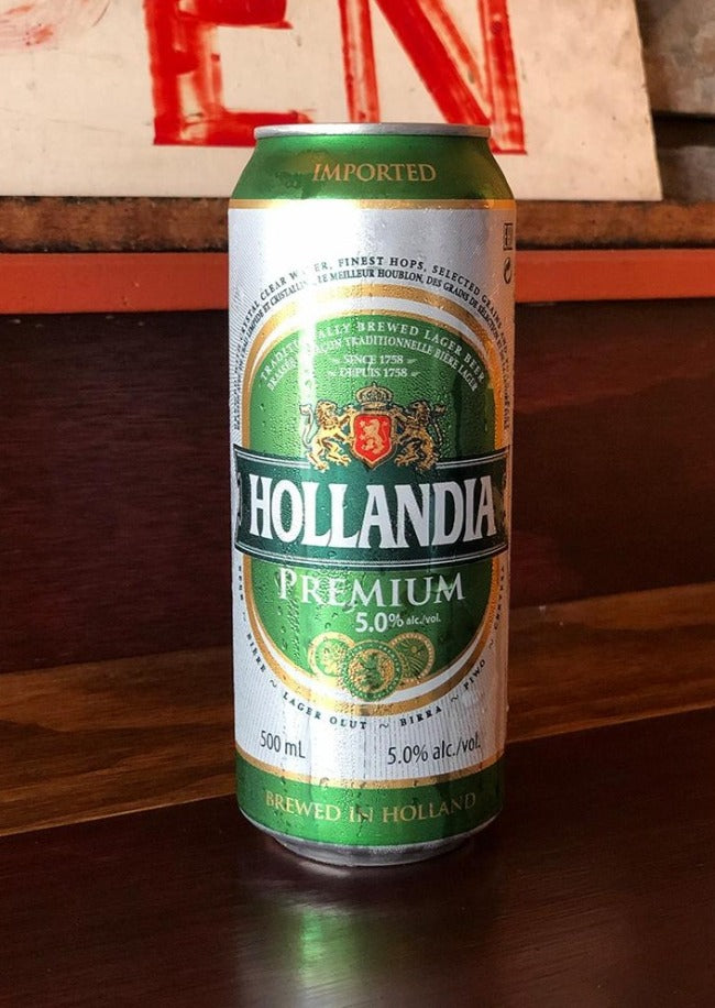 Tall Can of Hollandia - Le Petit Dejeuner