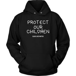 Protect Our Children Unisex Hoodie T-shirt teelaunch Unisex Hoodie Black S