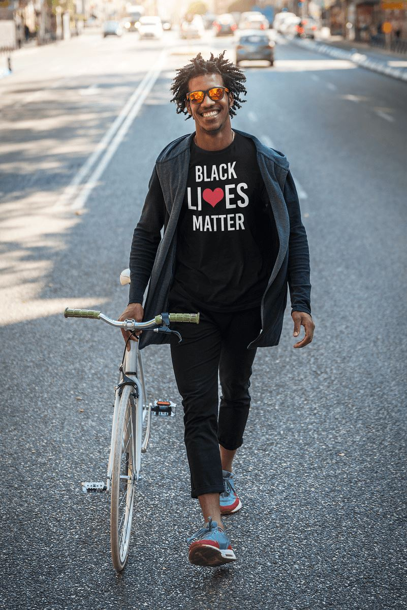 Black Lives Matter Men's T-Shirt T-shirt teelaunch