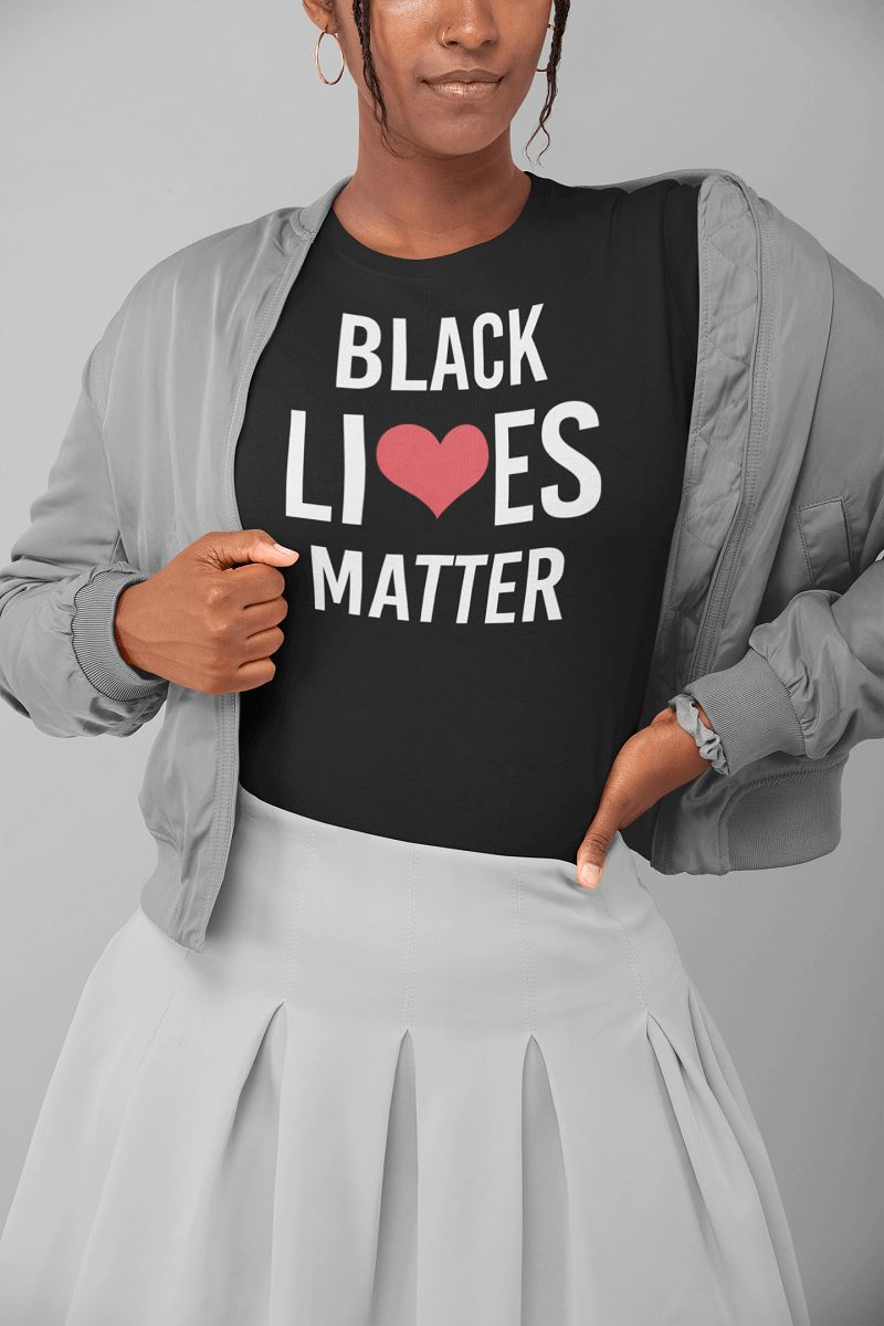 Black Lives Matter Women's T-Shirt T-shirt teelaunch