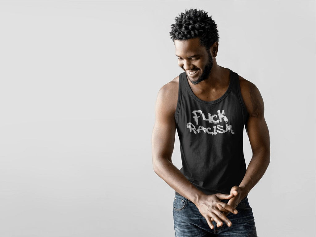 Fuck Racism Men's Tank Top T-shirt teelaunch