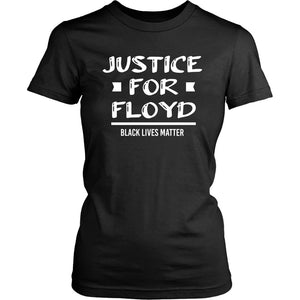 Justice For Floyd Women's T-Shirt T-shirt teelaunch District Womens Shirt Black XS