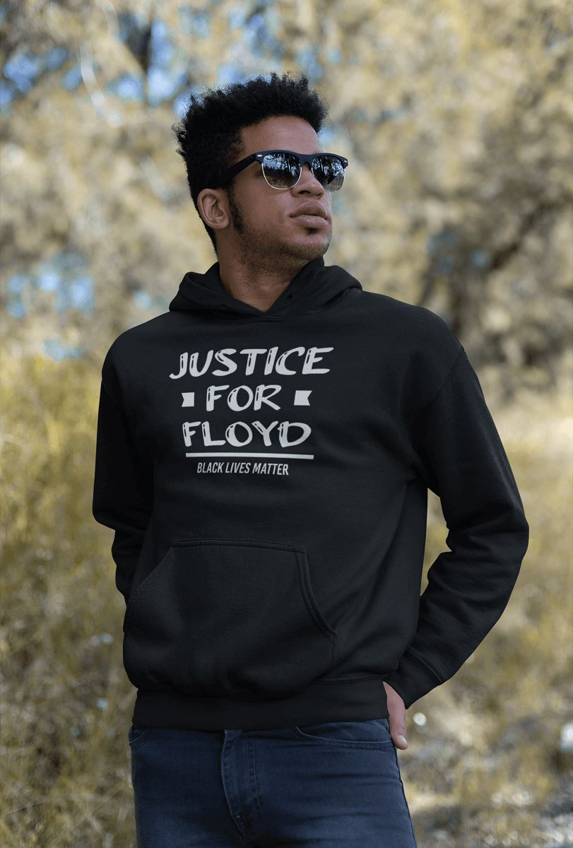 Justice For Floyd Unisex Hoodie T-shirt teelaunch