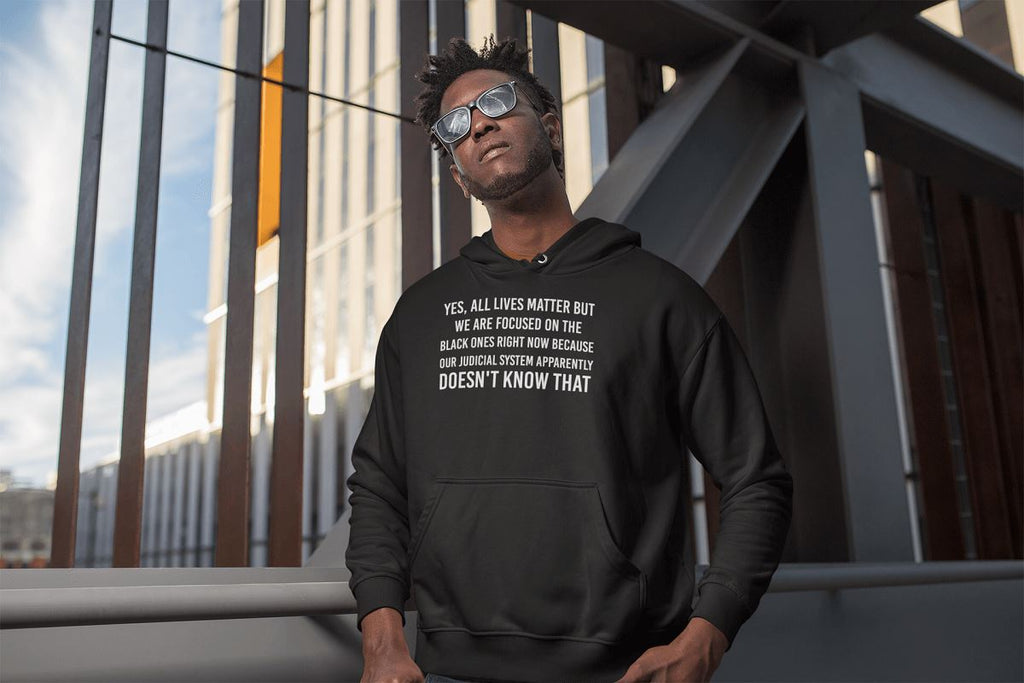 We Are Focused On Black Lives Right Now Unisex Hoodie T-shirt teelaunch