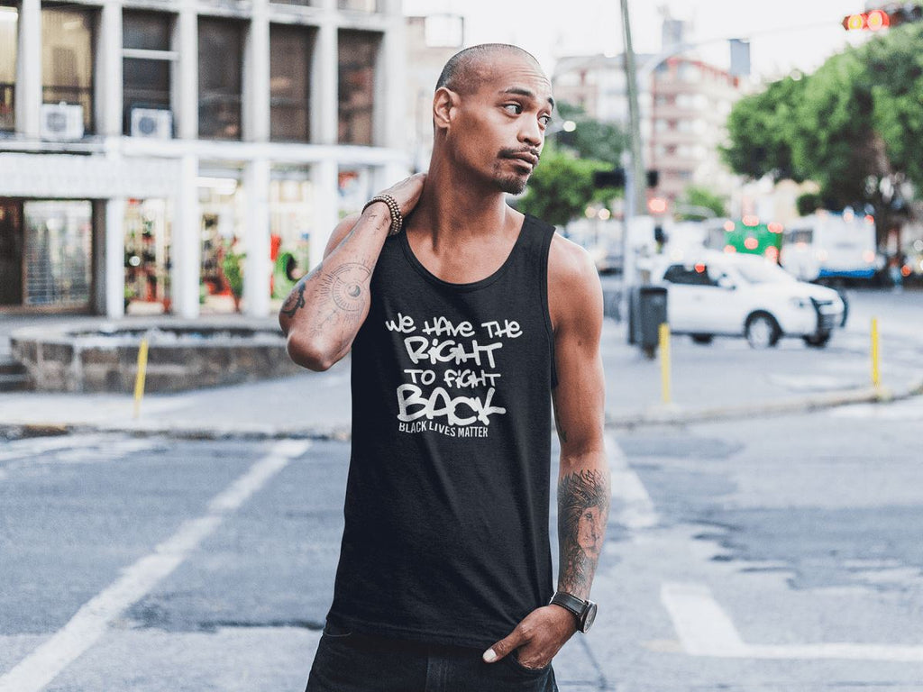 We Have The Right To Fight Back Men's Tank Top T-shirt teelaunch