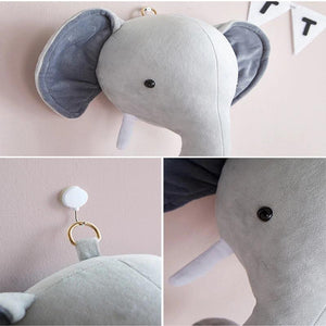 Charlie The Elephant Wall Plush Toy babycalm.co