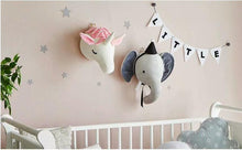 Load image into Gallery viewer, Charlie The Elephant Wall Plush Toy babycalm.co
