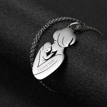 Load image into Gallery viewer, Custom Engraved Mother Pendant Necklace