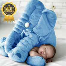 Load image into Gallery viewer, Lily™️ The Baby Elephant Plush - Blue / Large
