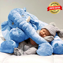 Load image into Gallery viewer, Lily™️ The Baby Elephant Plush - Blue / X Large