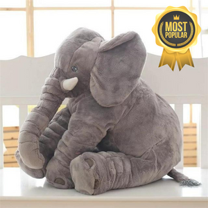 Lily™️ The Baby Elephant Plush - Gray / Large