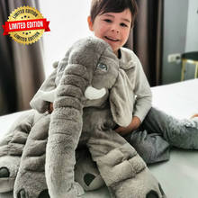 Load image into Gallery viewer, Lily™️ The Baby Elephant Plush - Gray / X Large