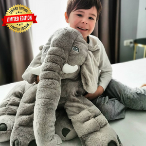 Lily™️ The Baby Elephant Plush - Gray / X Large
