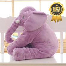 Load image into Gallery viewer, Lily™️ The Baby Elephant Plush - Purple / Large