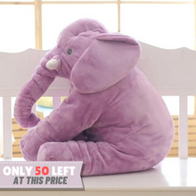 Load image into Gallery viewer, Lily™️ The Baby Elephant Plush - Purple / Medium