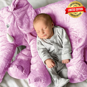 Lily™️ The Baby Elephant Plush - Purple / X Large
