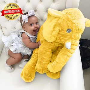 Lily™️ The Baby Elephant Plush - Yellow / X Large