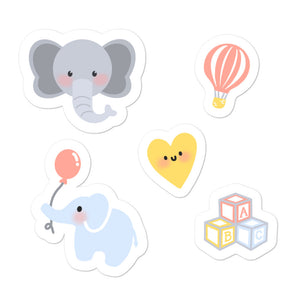 Lily The Baby Elephant Plush™ Starter Stickies