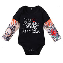 Load image into Gallery viewer, Rocker Life Baby Tattoo Onesie