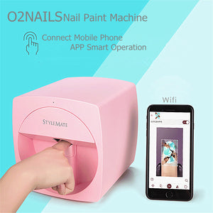 Mobile Nail Printer 3D Automatic