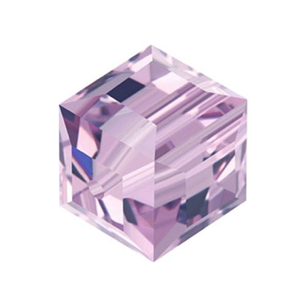 5601 4 mm Cube Bead Swarovski Swarovski crystals Swarovski 4 mm Light Amathist
