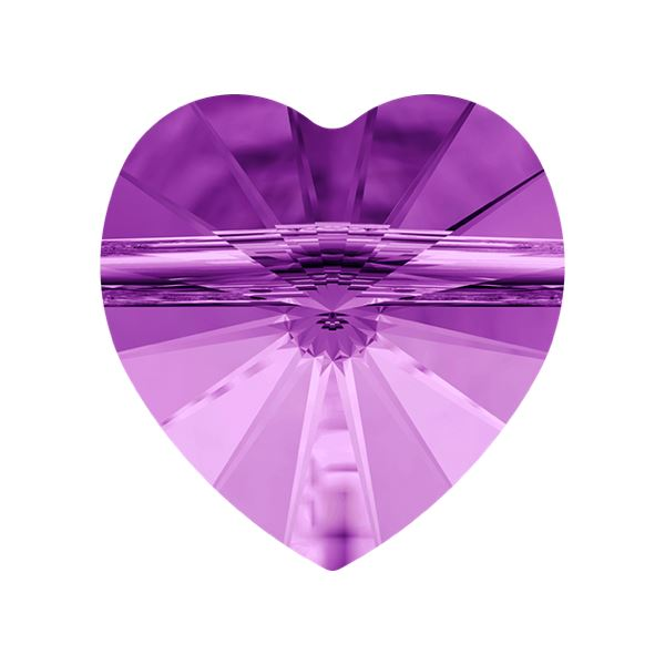 5742 Heart Bead Swarovski Swarovski crystals Swarovski 8 mm Light Amethyst