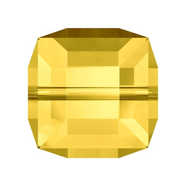 5601 4 mm Cube Bead Swarovski Swarovski crystals Swarovski 4 mm Light Topaz