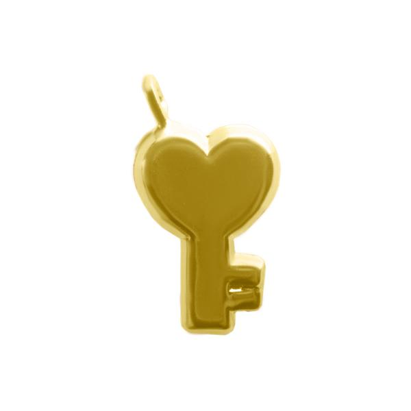 Dije de Llave de Gold Filled Gold Filled Joyas Diamex