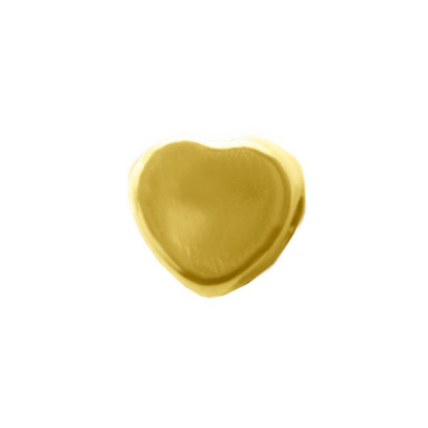 Corazón Mini Transversal de Gold Filled Gold Filled Joyas Diamex