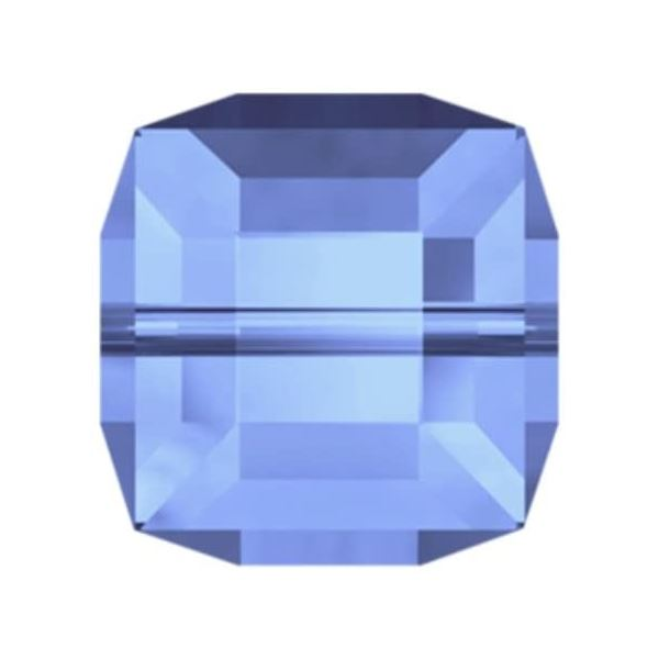 5601 4 mm Cube Bead Swarovski Swarovski crystals Swarovski 4 mm Light Sapphire