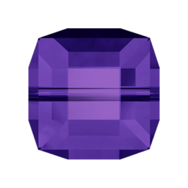 5601 4 mm Cube Bead Swarovski Swarovski crystals Swarovski 4 mm Purple Velvet