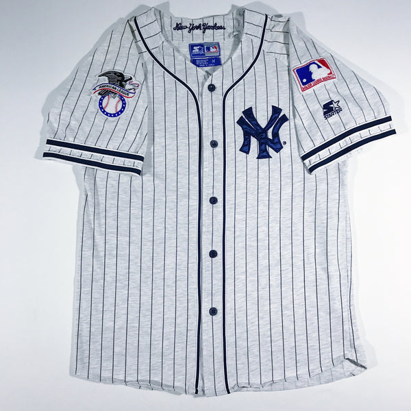 New York Yankees Heather Grey Starter Jersey – VINTAGE STRAINS 21c55741918