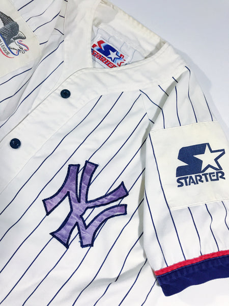 New York Yankees Starter Jersey – VINTAGE STRAINS 8f8bb48ab61